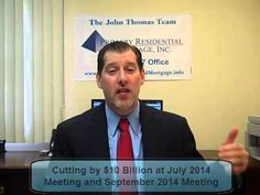 Maryland Mortgage Rates Weekly Market Update for July 14, 2014 from John Thomas with Primary Residential Mortgage in Towson, Maryland.  Call 410-412-3319 for Rate Quote.