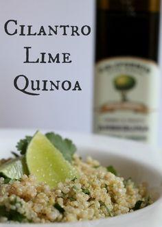 Cilantro Lime Quinoa recipe from @Marne Erickson Rodriguez-Murray