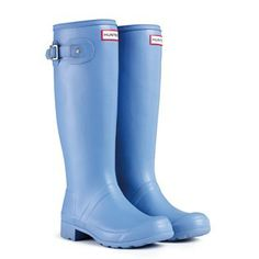 New for SS14 - Original Tour Wellingtons in Blue Lily