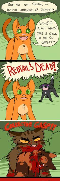 Yup, fasst es so ziemlich zusammen - Warrrior cats - Cat Wallpaper Warrior Cats Quotes, Warrior Cats Funny, Warrior Cats Comics, Warrior Cats Series, Warrior Cats Fan Art, Warrior Cats Books, Warrior Cat Drawings, Cat Comics, Warriors Memes