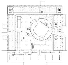 diferentes ritmos de estructuras en planta building plansle