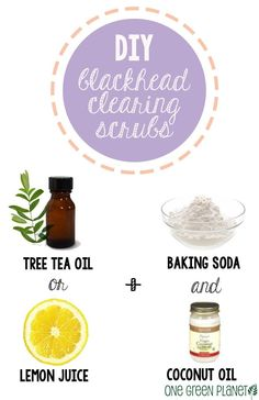 Quick and Easy DIY Blackhead-Clearing Mixes  http://onegr.pl/1i4Bc6p #diybeauty #veganbeauty