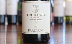 Parducci True Grit Reserve Petite Sirah - A Stampede of Big, Rich Flavors. http://www.reversewinesnob.com/parducci-true-grit-petite-sirah