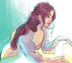 Lana Del Rey #LDR #art by Bev Johnson (bevsi)
