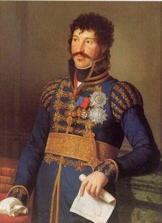 Le roi Murat. Par Heinrich Schmidt (1814)