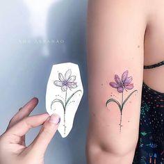 """3,507 curtidas, 13 comentários - TATTOO INK (@tattooinke) no Instagram: """"Artista: @abrahaoana . F L O R. D E. A Ç A F R Ã O.  .  Publicado por: @ttblackink❤@flash_work…"""""""