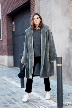 coat gives it a sense of humor