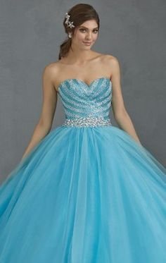 Embellished Sweetheart  Tulle Gown by Allure Quinceanera