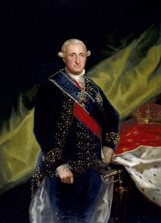 "Francisco de Goya: ""El rey Carlos IV"". Oil on canvas, 152 x 110 cm, 1790. Museo Nacional del Prado, Madrid, Spain"