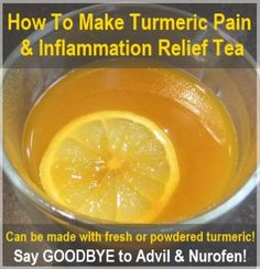 How To Make Turmeric Pain Relief Tea | Health & Natural Living http://healthandnaturalliving.com/how-to-make-turmeric-pain-relief-tea/
