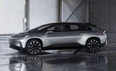 Faraday Future unveils the FF91.