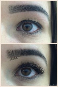Lashes end eyebrows perfect !