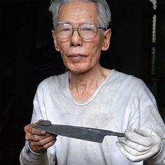 Keijiro Doi, the greatest #knife -smith in Japan
