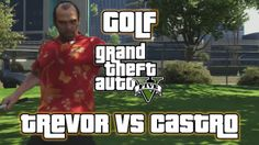 This is Golf Hobby or Pastime in Grand Theft Auto V that involves Trevor, playing golf with Castro. There are 59 total Hobbies and Pastimes that contribute to the 100% completion of the game.