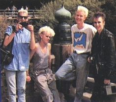 Depeche Mode (in Japan circa 1985. dorky!)