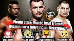 Would Stipe be victorious? #mma #ufc