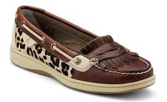 Love the leopard Sperry