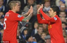 Regret: Daniel Agger (left) believes he should have sat out Liverpool's draw with Chelsea