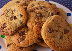 Chocolate-chip cookies, Goodall's. Chocolate Chip Cookies, Nom Nom, Chips, Baking, Cake, Desserts, Recipes, Food, Tailgate Desserts