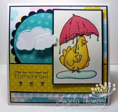 The Sun will come out tomorrow by jellybean74 - Cards and Paper Crafts at Splitcoaststampers