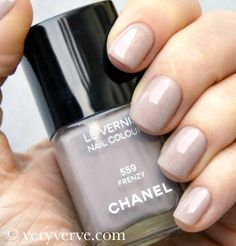 veryverve: Chanel Frenzy nail polish nude trend fall winter 2012 2013, swatches dupe comparison.
