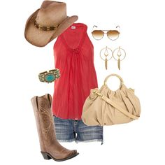 """""""Spicy Nights"""" Featuring Lucchese Since 1883 Ladies' #Boot with Cfs Novillero Stitching in Nutmeg, Style N4737"""