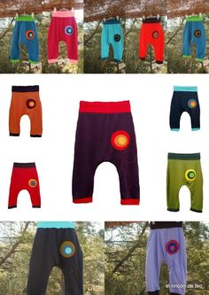pantalones-turcos Recycle Jeans, Baby Kids Clothes, Trousers, Pants, Sewing Patterns, Recycling, Diy Crafts, Boho, Inspiration