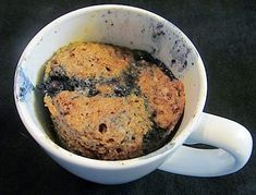 I just used flaxeeds and worked perfectly fine. Add berries if u want a more moist cup-muffin.