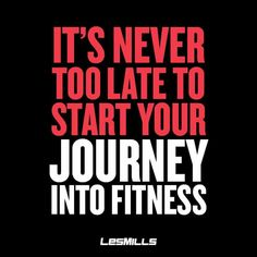 Never too late!!