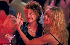 We miss you! Hawn's last screen role was opposite Oscar winner Susan Sarandon in the 2002 comedic drama The Banger Sisters