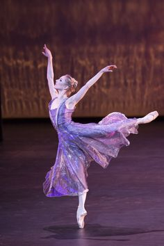 The Royal Ballet's Sarah Lamb in '24 Preludes'. Photo: Johan Persson.  Beautiful.