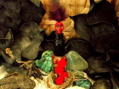 Witch Bottle Spirit Bottle Compelling Do as I  by WendyRosesBrews, $14.85