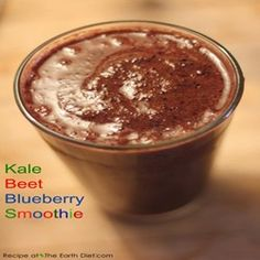 Kale Beet Blueberry Smoothie Recipe