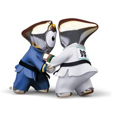 2012 London Olympic Games. Judo Mescot