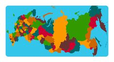 Map game to learn the 85 federal subject of Russia, also by region. World Geography Games, Russia Map, Map Games, Online Games, Europe, Play