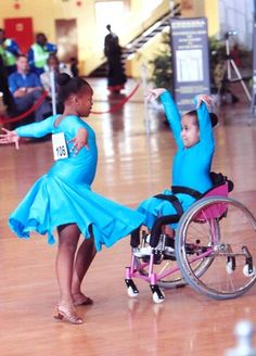 The Chaeli Campaign helps disabled children learn the joy of dance!