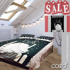 Yours!...Copripiumino Matrimoniale!...Cottone 100% lavabili...illustrazioni by Cosito...home decor...in vendita! richiedi il tuo!