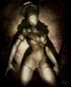 #SilentHill nurse #zombie