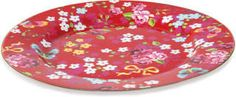 Pip Studio - Chinese Rose Plate - Red - 32cm from Amara Living