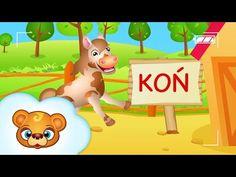 Farma - bajki dla dzieci - odgłosy zwierząt - YouTube