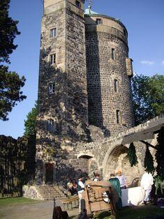 Burg Stolpen Thüringen Duitsland