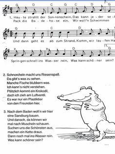 Lied sonnenschein