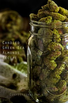 Candied Green Tea Almonds