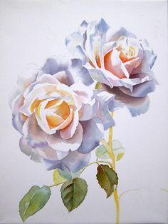 Rose Paintings by Doris Joa