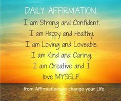 5.8.2014 Daily Affirmations ♡Debbie