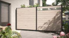 Der variable Modulzaun für pflegeleichte Gartenideen Sieht gut aus und löst alle Größenprobleme bei der Garteneinfriedung und Terrassenabgrenzung. Praktisch: Höhe und Breite sind variabel - die Zaunhöhen variieren Sie in 15 cm-Schritten durch die beliebige Anzahl der Profilbretter, die Breite können Sie durch Kappen der Bretter problemlos verringern. Alle Teile gibt es auch einzeln zur individuellen Planung.