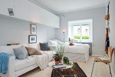 Tiny studio apartment via Alvhem Makleri