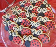 ladybug cookies - Google Search