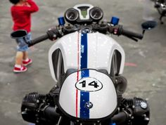 RocketGarage Cafe Racer: Nine T from Spain