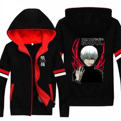 Vicwin-One Tokyo Ghoul Kaneki Ken Logo Thick Hoodie Pullover Cosplay (Size XXL) ** Read more reviews of the product by visiting the link on the image.